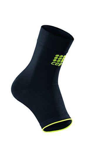 CEP - Ortho Ankle Sleeve Unisex | Fußbandagen für sicheren Halt | schwarz/grün | Größe VI -