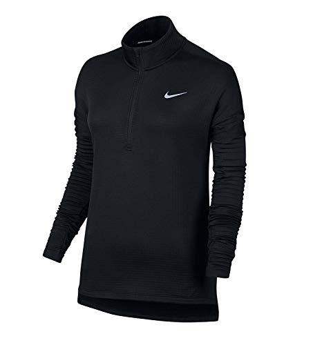 Nike Damen Therma Sphere Element Lauftop - schwarz - Klein Nike Mock Neck