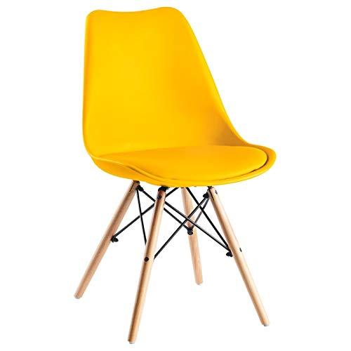 Silla Eames amarilla - Silla Tilsen