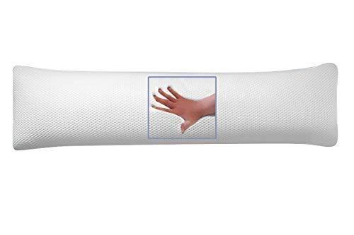supply24 Orthopädisches Gel/Gelschaum Seitenschläfer Kissen/Schwangerschaftskissen 150 x 40 x 16 cm Seitenschläferkissen Soft/weich