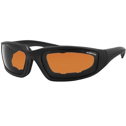Bobster Eyewear Bobster Foamerz II Sunglasses - One size fits most/Black w/ Amber