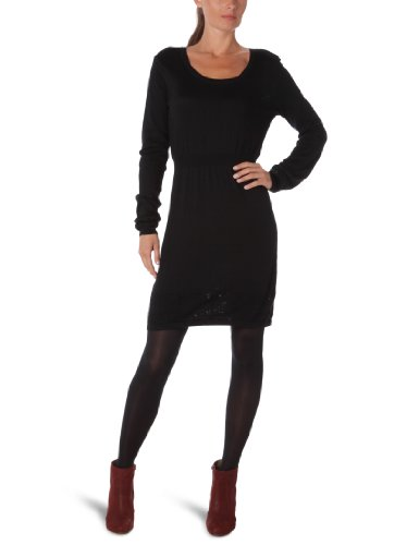 Roxy Damen Kleid Dress Mockingbird, true black, L, WPWDR073-TRB-L