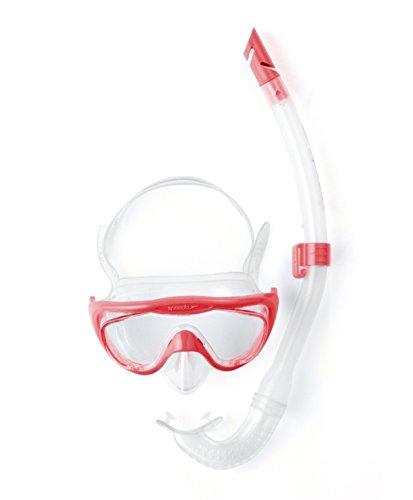 Speedo Accessoires Glide Junior Snorkel Set, Pink, One Size, 8-036311341ONESIZE