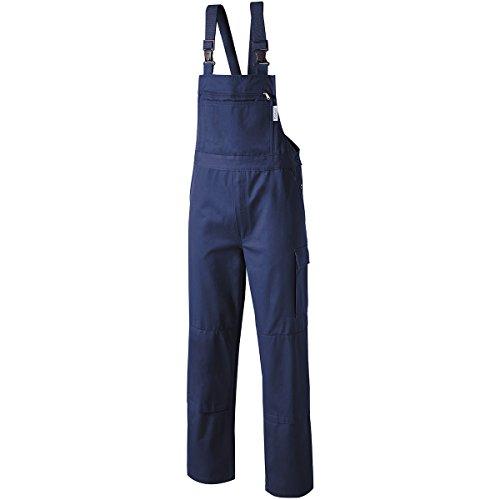 PIONIER WORKWEAR Herren Latzhose Cotton Pure in marineblau (Art.-Nr. 9491) marine,Größe 90