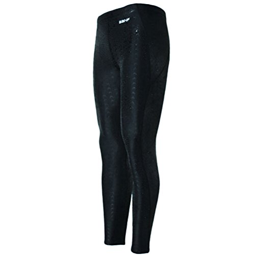 Zhhlaixing Unisex Surfing Leggings Sun Protection Yoga Baden Surfing Diving Black