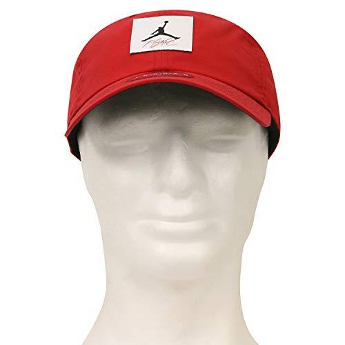 Nike Jordan H86 Legacy Flight Hat, Gym red/Black, One Size - Air Jordan Flight