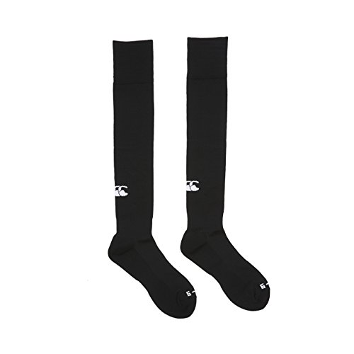 Canterbury Herren Bekleidung Plain Playing Socken, Black, L, T23947-989