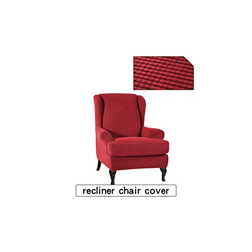 Elastic All Inclusive Sofa-Stuhl-Abdeckung Lehnstuhl Futon Slipcover, 7 -