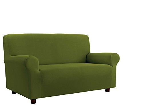 Italian bed linen cdpbverdescuro4p copridivano, 96% poliestere/ 4% elastometro, verde scuro, 4 posti, 220-270 cm