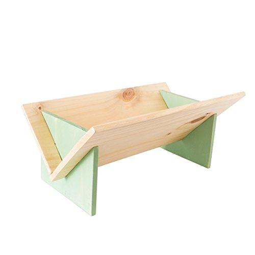 LH-Schweberegale Moderne Massivholz Nachttisch Schreibtisch kleine Bücherregal einfache Mini Nähte Klappregal (Farbe : #3) - Modernen-wand-einheit