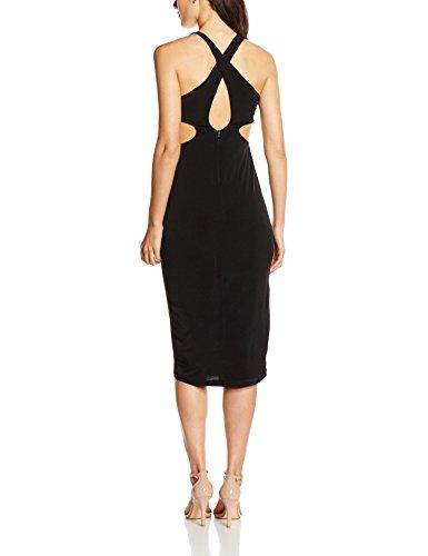 OLIVIA Abito Lungo, Robe Femme Noir