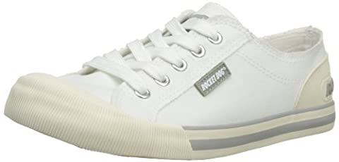 Rocket Dog Women's Jazzin Canvas Low-Top Sneakers - White (White), 5 UK (38 EU)