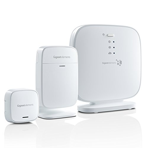 Gigaset Alarmanlage elements starter kit | Smart Home Sicherheitssystem mit iOS|Android App | intelligente Überwachung smart protection alarm system |...