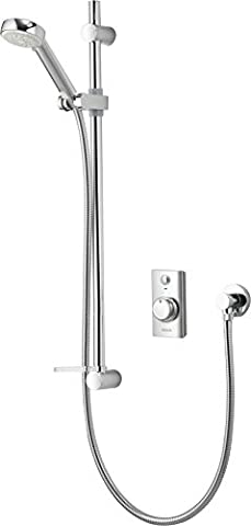 Aqualisa Visage Concealed Thermostatic Digital Mixer Shower with Adjustable Head VSD.A1.BV.14 (High Pressure/Combination)