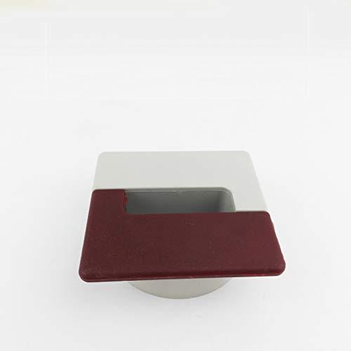 Tülle Loch Deckel Wire Lochabdeckung rundes Loch 60mm Crimson Threading Box Desktop hässlich Draht...