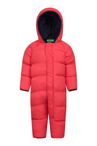 Mountain Warehouse Frosty Kinder Winter Anzug Gefüttert Schneeanzug Rot 86 (12-18 Monate)