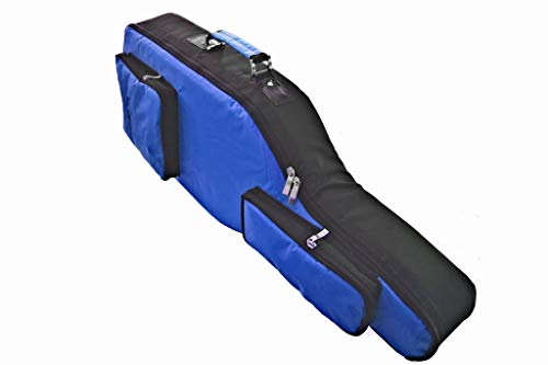 Nuevo Xbox One Console Guitar Hero Live Blue & Black Guitar Case Bag