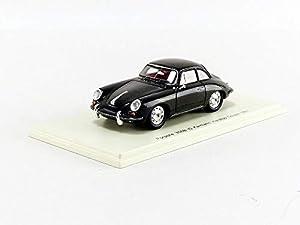 SPARK-Coche en Miniatura de colección, s4921, Negro