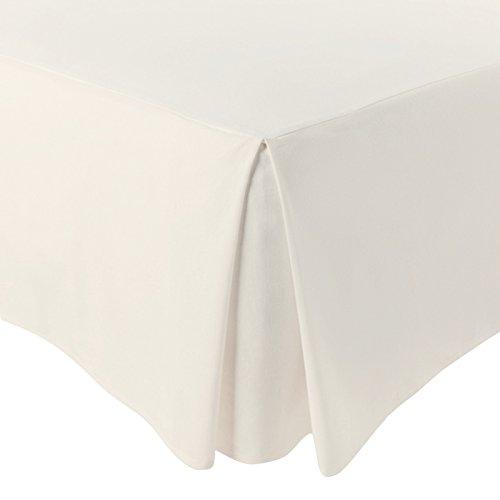 Jarrous - mantovana giroletto modello pierre cama de 160 ecru