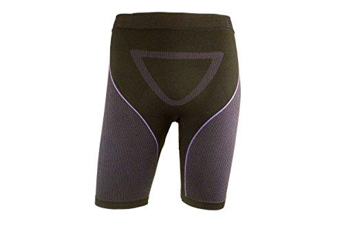 Crivit® Sports Damen Funktionshose - für alle Temperaturen Schwarz/Lila S [36/38]