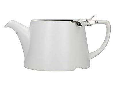London Pottery Company 45370 Théière ovale avec infuseur pour thé en vrac en grès