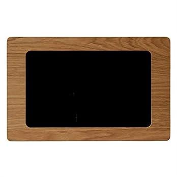 NobleFrames Tablet Wandhalterung für Samsung Galaxy Tab A 10.5 T590 / T595 aus Eiche | Rahmen aus Holz