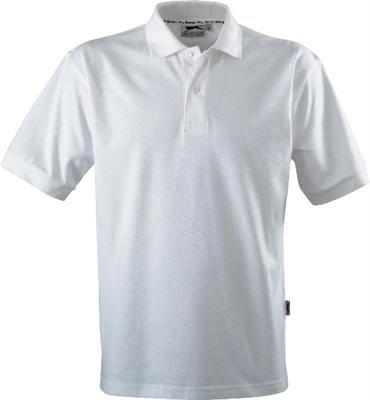 Slazenger Polo Hemd Poloshirt aus 100 % Baumwolle für Freizeit, Tennis oder Golf in 23 Farben und den Grössen S, M, L, XL und XXL Weiss,L (Pique Polo Golf Herren)