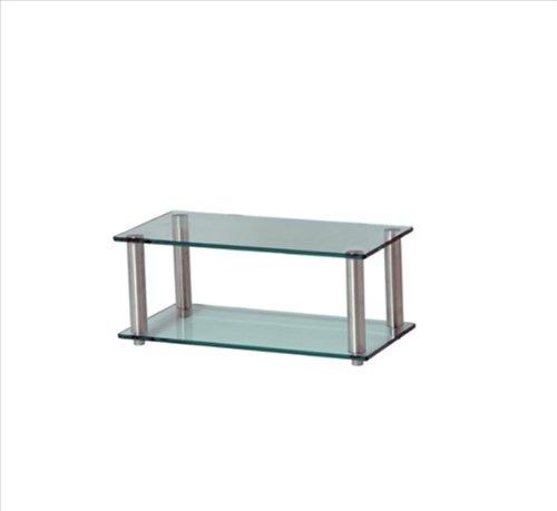 Frosted Glas-tv-ständer (Gem Shallow 2shelf Frost/COL HiFi/TV Ständer 600x 300)