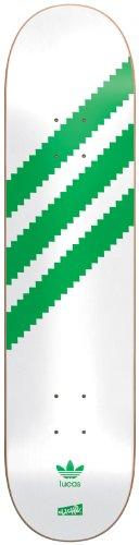 Cliché Lucas Originals - Tavola da skate, colore: bianco/verde, 20 x 81,5 cm