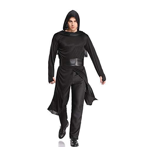 Samurai Für Kostüm Verkauf - PRTQI Halloween Erwachsene Männerkleidung Ninja Warrior Cosplay Samurai Kostüme