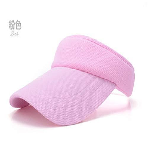 Breaking Baby Bad Kostüm - mlpnko Sun weiblicher Sonnenschutz im Freien Sport Baseball Topless Tennis Cap Visier Cap Top rosa einstellbar