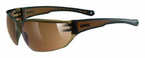 Uvex Unisex Sportbrille Sportstyle 204, brown, One size,5305256113
