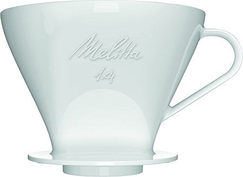 Melitta 1x4 Permanent Porzellan Kaffeefilter/Spülmaschinengeeignet/Klassische und alt bewährte...