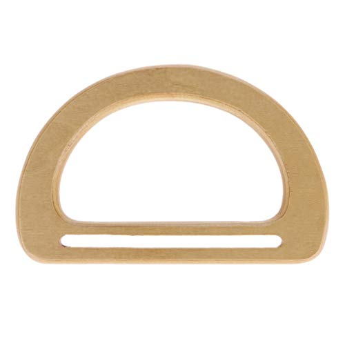 SimpleLife Handtaschen-Zubehör-Ersatzteile Holzsackgriffe für DIY-Geldbeutel, der Handtasche Einkaufstasche Macht