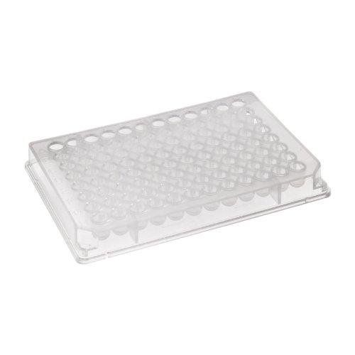 Corning 2481Polystyrol rund hoch Binden geringes Volumen Streifen Platte ohne Deckel, unsteril, 96gut (100Stück)