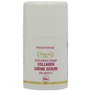 Higher Nature Aeterna Gold Collagen Crème Serum 50ml