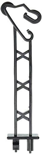 Field Guardian t-Post Rückseite Verlängerung Isolator polywire, 12,7cm, Schwarz