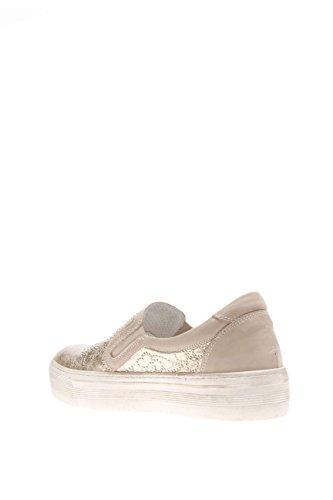 Nero Giardini Damen Sneaker p615260d-415Sneaker Slip On Leder Beige