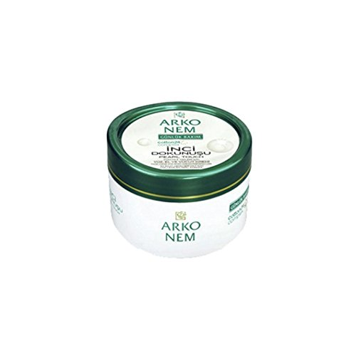 Arko Nem pearl touch face, hand and body cream for daily use 300 - Head Edge Bed