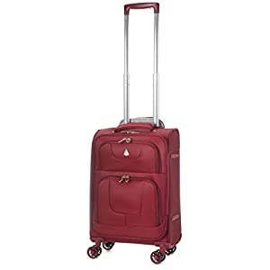 "Aerolite 21""/55cm Lightweight 8 Wheeled Spinner Cabin Hand Luggage Travel Suitcase"