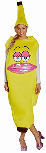 Damen Kostüm Banane Karneval Fasching - Kramer Kostüm