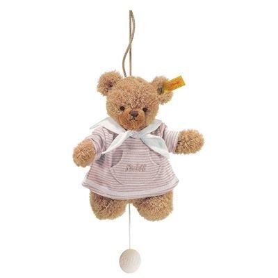 Steiff 237225 - Schlaf Gut Bär Spieluhr 20 cm, beige