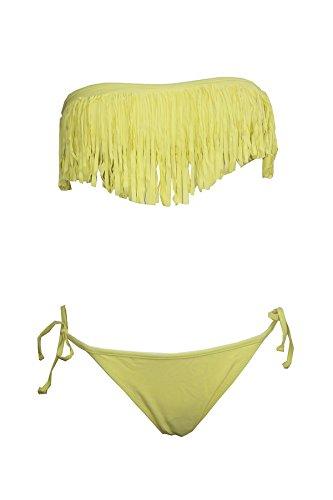 Tamari Beachwear Damen Bikini-Set Gelb - Gelb