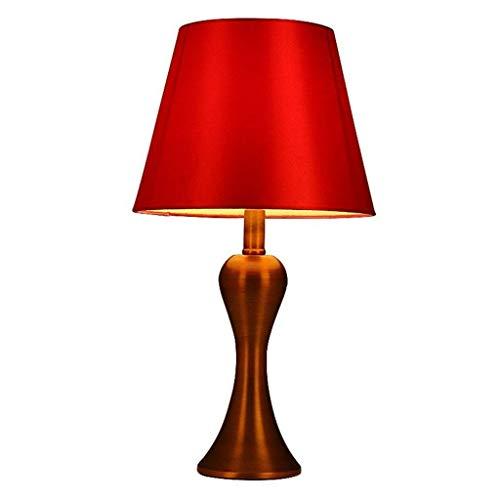 ttischlampe, Dekoration Schreibtischlampe, Hochzeit Tischlampe Schlafzimmer Nacht Kreative Rote Dekorative Lichter ()