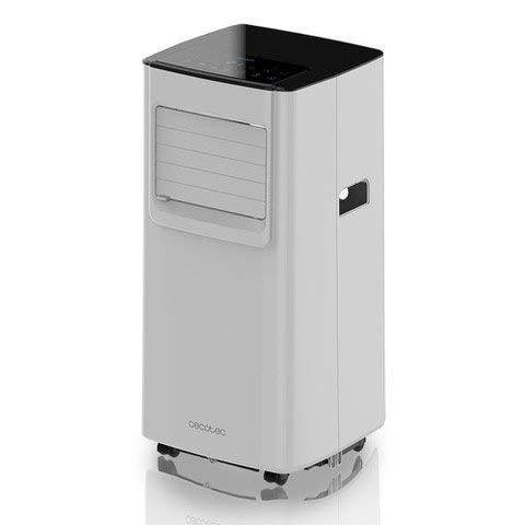 Cecotec Force Silence Clima 7050 Tragbare Klimaanlage, großer Luftdurchfluss bis 300 m3/h, 1800 Kühlschränke, ClimaCare 3 in 1, programmierbar 24h, Energieeffizienzklasse A, Weiß -