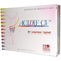 biohealth Italia Srl acidif CV 10Tabletten Vaginal preisvergleich bei billige-tabletten.eu