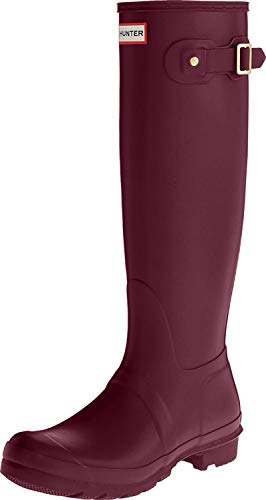 Hunter High Wellington Boots, Stivali di Gomma Donna, Viola (Purple Rvi), 37 EU