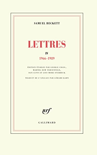 Lettres IV: (1966-1989)