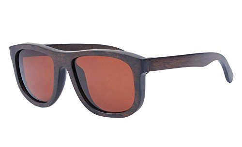 Insun Herren Sonnenbrille Gr. Einheitsgröße, Mehrfarbig - 3010C6 Coffee Wood Frame