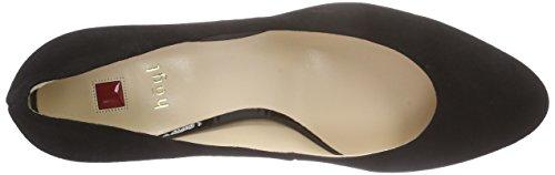Högl 1- 10 6002, Chaussures à talons - Avant du pieds couvert femme Noir - Schwarz (0100)